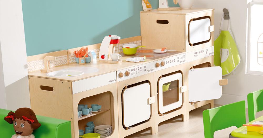 Mobilier et jeux pour espace enfants Wesco