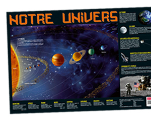 poster l'univers