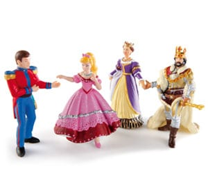 Figurines Famille Royale