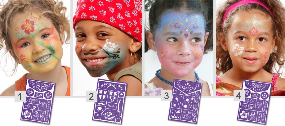 Atelier Créatif Pour Maquiller Le Visage De Vos Enfants Avec Wesco