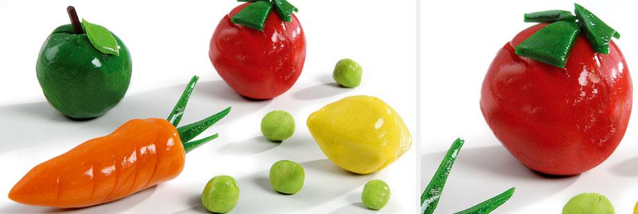 Découvrez les aliments grâce à l'atelier de modelage avec Wesco