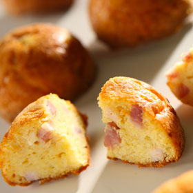 mini cakes aux 3 fromages
